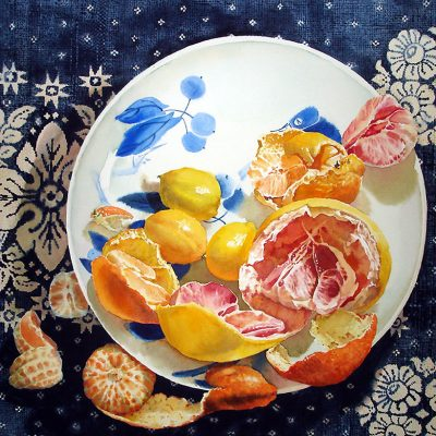 grapefruit arrangement