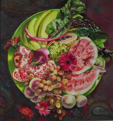 watermelon arrangement